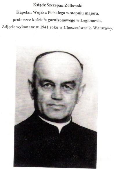 Ksiądz Szymon Żółtowski