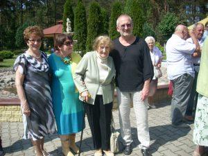 Kalina z Torunia, Bożena z Torunia, Barbara z Wrocławia z synem Krzysztofem z USA